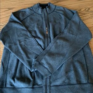 Tommy Bahama Reversible Men's Cotton Sweater L